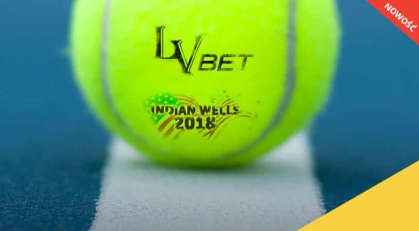 Bonus bukmacherski na tenis. 500 PLN do zdobycia w LvBET!