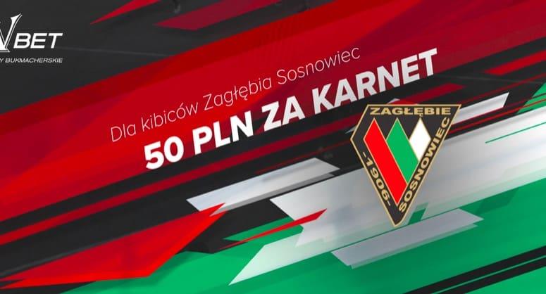 Darmowe 50 PLN za karnet na Zagłębie Sosnowiec!