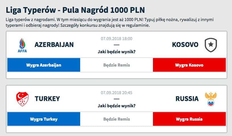 Polska liga typerów z nagrodami