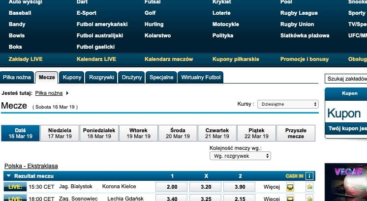 William Hill Polska. Bonusy, oferta i kod promocyjny 2019!