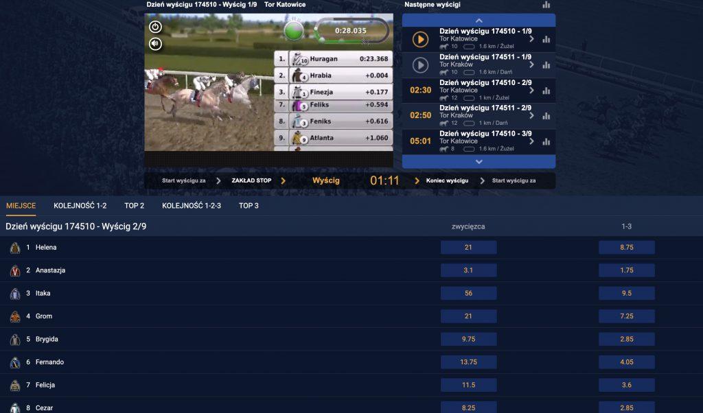 Nowe Wirtualne Sporty w STS. Ruszyły wyścigi konne!