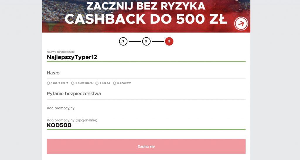 Cashback na start - BetClic daje nowym do 500 PLN!