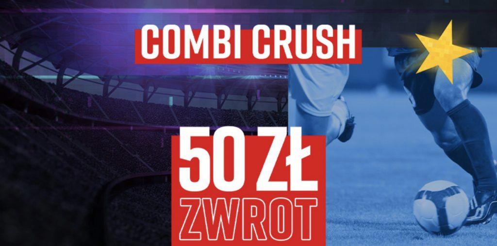 Combi Crush, czyli 50 PLN od Betclic na Ligę Mistrzów!