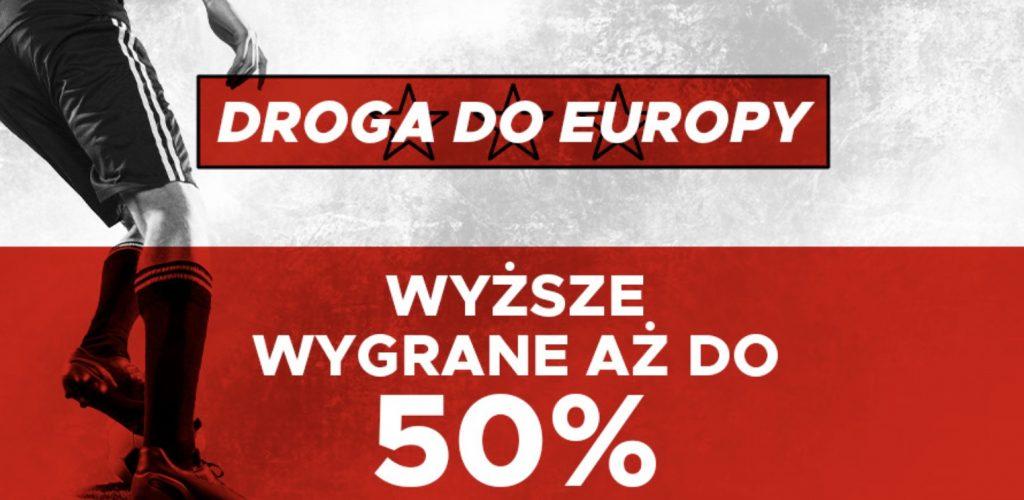 Betclic powiększa wygrane na mecze Polski w eliminacjach Euro 2020!