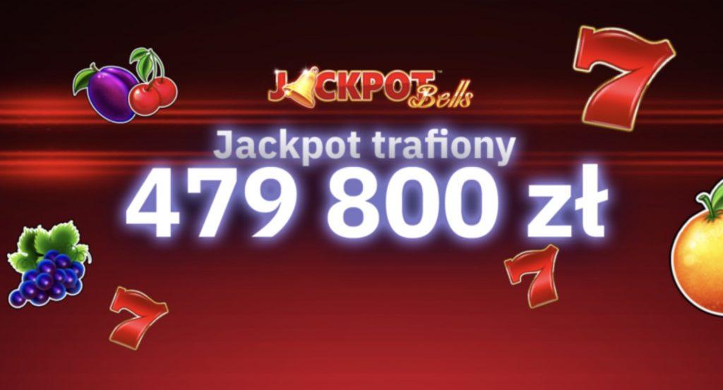 479 800 PLN - październikowa wygrana w Jackpot Bells w Total Casino!