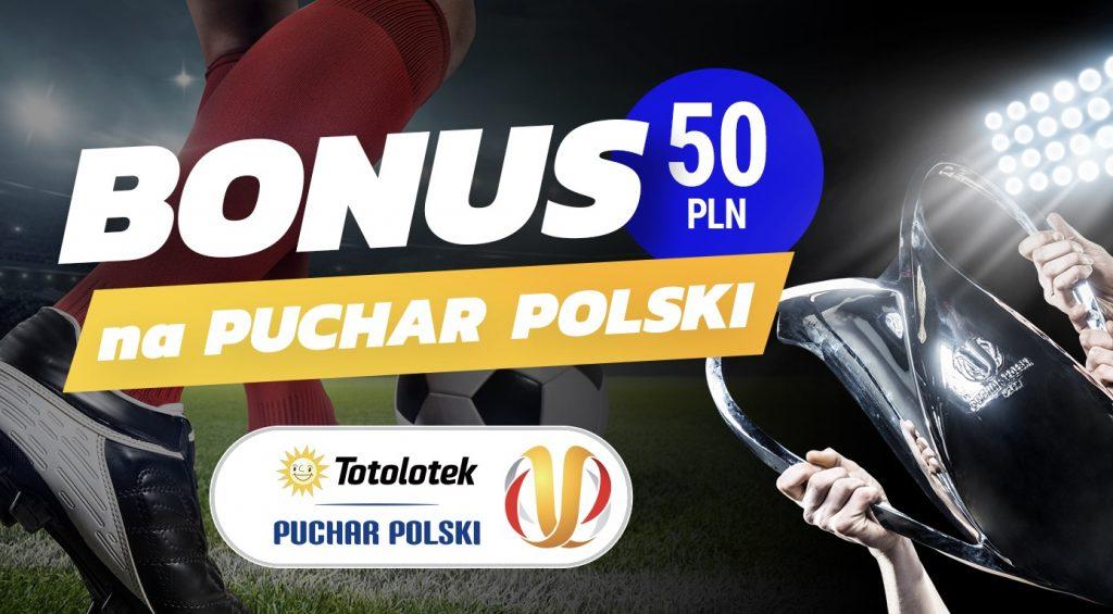 Puchar Polski z bonusem. 50 PLN od Totolotka dla wszystkich typerów!