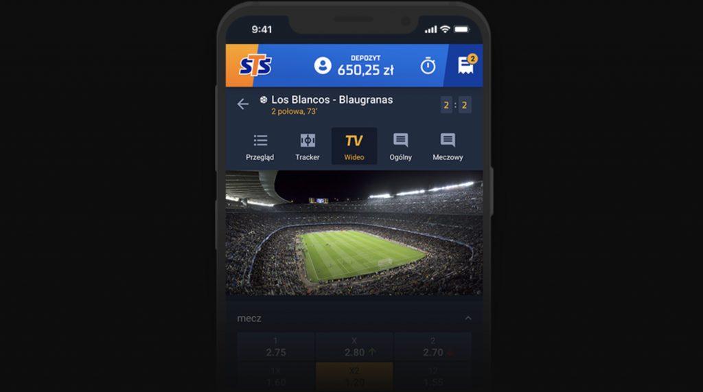 Aplikacja mobilna STS. Plik APK na system Android - jak pobrać i obstawiać?